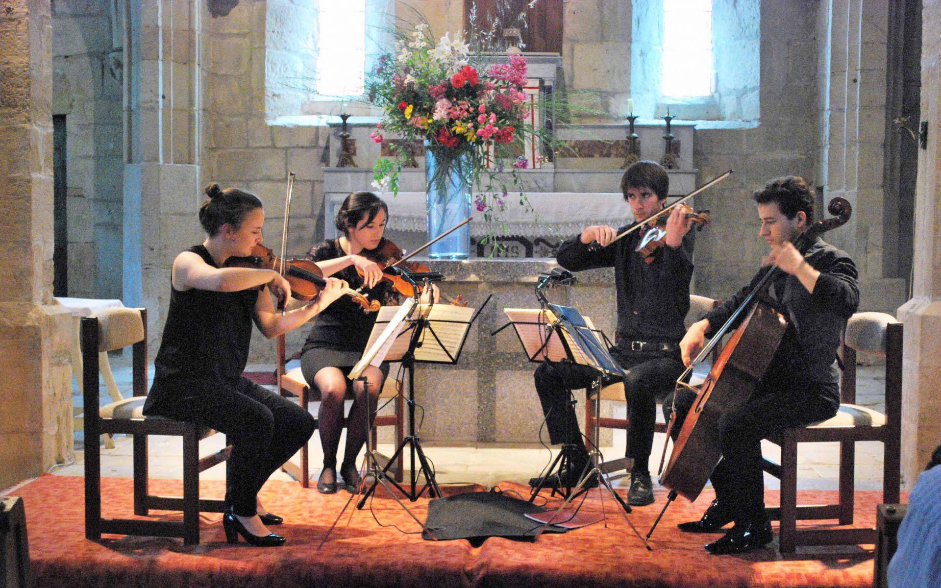 Festivals - Gite l\'Arde\'chti en Ardèche festival Coeur en Musique
