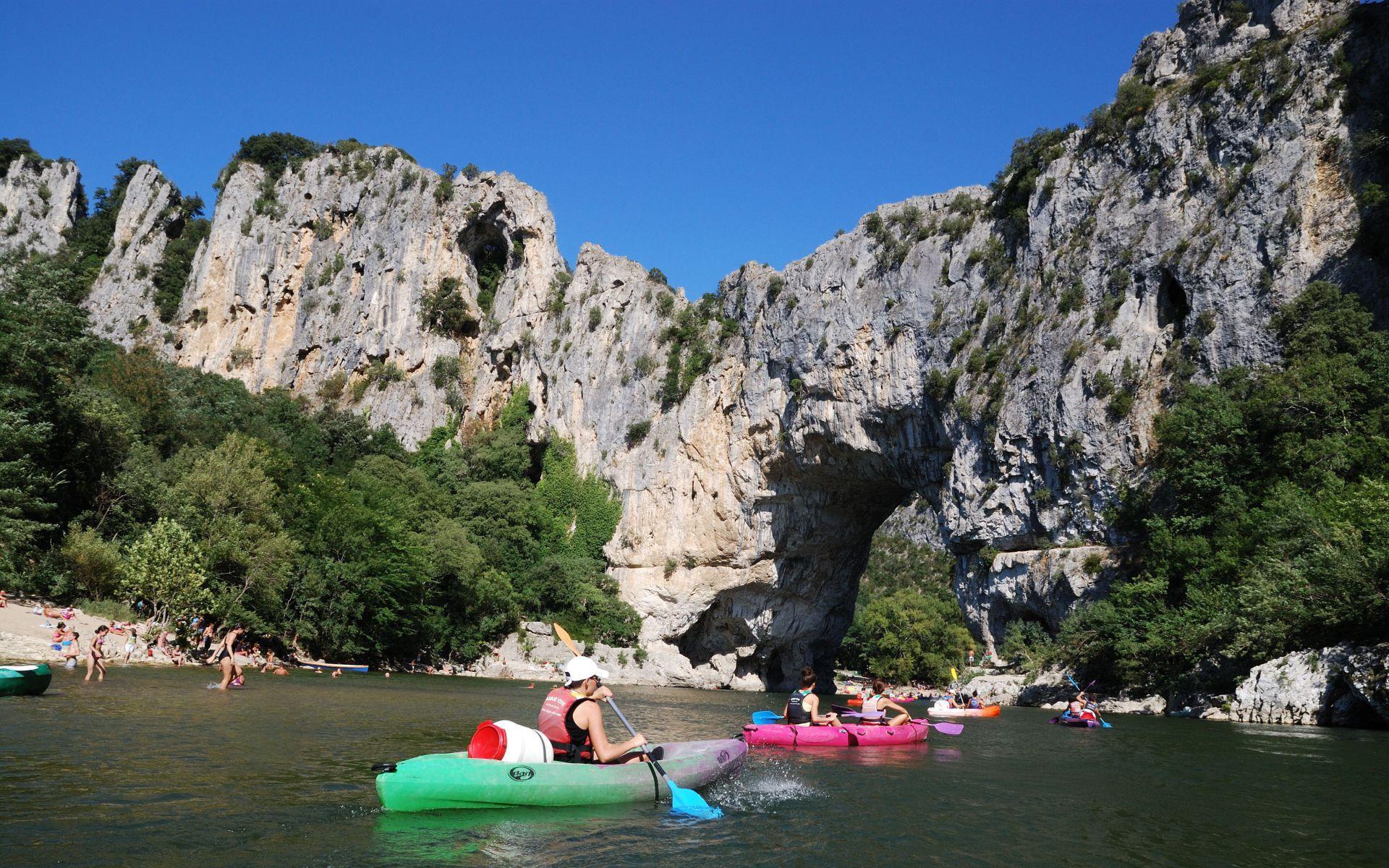 l\'Ardèche à la découverte - Pont d\'Arc